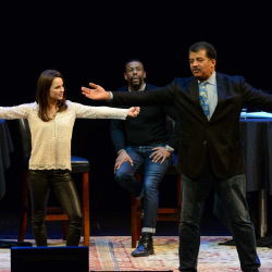 Playing with Science at BAM, with Sasha Cohen & Neil deGrasse Tyson