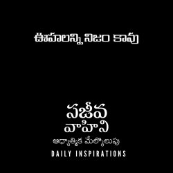 Not All Thougths are Correct  - ఊహలన్నినిజంకావు