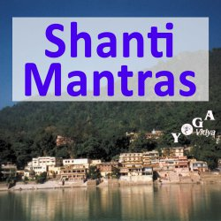 Shanti Mantras recitation in vedic style