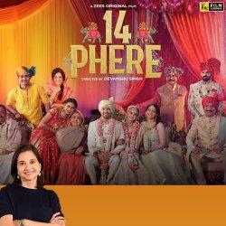 14 Phere | Bollywood Movie Review by Anupama Chopra | Vikrant M, Kriti K | Film Companion