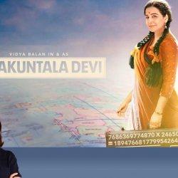 123: Shakuntala Devi | Bollywood Movie Review by Anupama Chopra | Vidya Balan | Sanya Malhotra