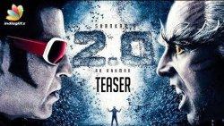 BREAKING : 2.0 Teaser Release Date   Rajnikanth, Shankar   Amy Jackson