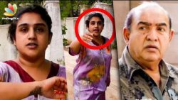 Actor Vijayakumar Lodges Police Complaint on his Daughter Vanitha | Hot News
