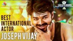 Vijay Wins Best International Actor Award for 'Mersal' | Latest Tamil Cinema News