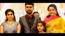 Meena & Baby Nainika Attend Ramesh Khanna's Son Wedding | Reception Video