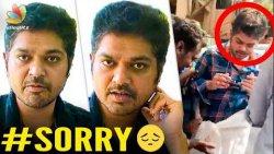 Shakthi Vasu Apologises for Drunken Driving | Hot Cinema News