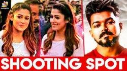 After Vijay, Nayanthara's look Revealed ?   Atlee's Thalapathy 63   Hot Cinema News