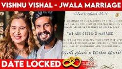 ???? களைகட்டும் Vishnu Vishal Jwala Gutta திருமணம் | Wedding Invitation, F.I.R, Love Marriage