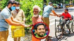 100 பேருக்கு உணவுவளித்த நடிகர் Aari | Maruvom Mattruvom, Thiruvannamalai Girivalam | News