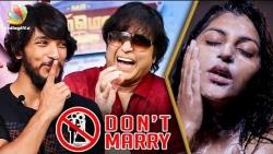 DON'T MARRY !! Karthik advice to Gautham - Fun Interview | Mr.Chandramouli, Yashika