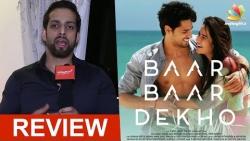 Baar Baar Dekho Review by Salil Acharya