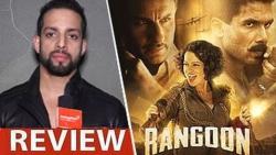 Rangoon Review by Salil Acharya