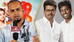 Vijay fans nu thittama iruken, illana... : Sinish Interview | Balloon Director Atlee Controversy