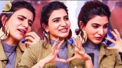 Samantha Cutely Imitates Thalapathy Vijay | U-Turn Interview