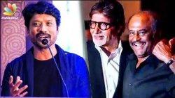 தமிழில் முதல் முறையாக Amitabh Bachchan : SJ Surya's earth-shattering announcement   Rajini