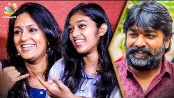 My Daughter's Debuting with Vijay Sethupathi Film : Devadharshini Interview | 96 Movie