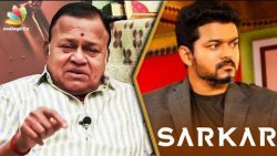 Vijay's Sarkar Will Have a Strong Impact on Society : Radha Ravi Interview | Simtaangaaran