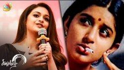I was tensed to play Meera Jasmine Role : Keerthy Suresh , Vishal | Sandakozhi 2