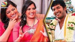 When is Vishal's Wedding ? : Varalaxmi Hilarious Interview | Sandakozhi 2