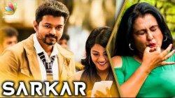 Vijay's Smile Has a Hidden Meaning : Sona Heiden | Sarkar Official Trailer Spl Interview