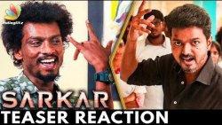 Bayangarama Iruku ! : Sendrayan Reacts to Sarkar Official Teaser | Vijay's Thalapathy 62