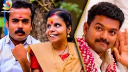 Singing in Theri Was a Blessing For Us : Vaikom Vijayalakshmi & Husband Interview | En Jeevan Song