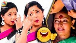 Tamil Serial Atrocities : Aishwarya Hilarious Interview | Azhagu Sun TV