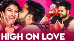 WOW ?? Perfect Kisses Filled with Love : Alya Manasa & Sanjeev Romantic Interview | Valentine's Day