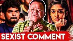 Radha Ravi Passes Sexist Comments Against Nayanthara | Kolayuthir Kaalam Audio Launch