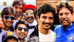 Jiiva Starts Cricket Training with Kapil Dev | 1983 World Cup Movie | Interview