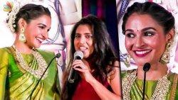 நீங்க Hero-வ விட Height-ஆ : Kasthuri trolls Andrea | Maligai Teaser Launch