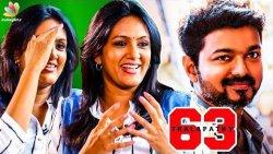 My Character in Thalapathy 63 : Devadharshini Reveals | Atlee, Vijay Movie | Kanchana 3