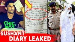 Breaking! Sushant GirlFriend Leaks Whatsapp Chats & His Diary | Rhea Chakraborty, Bollywood News