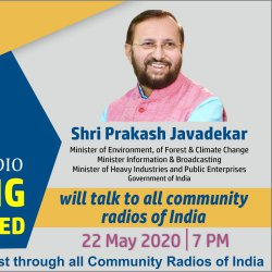 CoviD'19 | Rathinavani 90.8 CR | Broadcast Interview of the Honorable Minister | Information & Broadcast | Shri. Prakash Javadekar Interview | Hindi & English | Reaching The UnReached