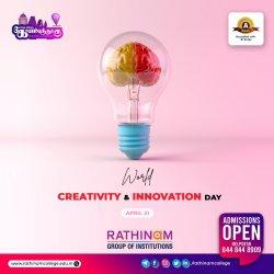 Rathinavani 90.8 Community Radio   World Creativity and Innovation Day   April 21   Creativity and innovation in problem-solving through SDG's   Special Talk Show by RJ Mukesh & Mr. Sunil AIC RAISE