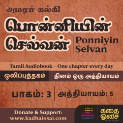 Ponniyin Selvan Part 3 - Chapter 5 | பொன்னியின் செல்வன் ஒலிப்புத்தகம் | Tamil Audiobook