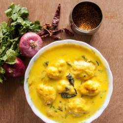 53: How to Make Kadi Pakoda Recipe - Curd Chickpea Curry