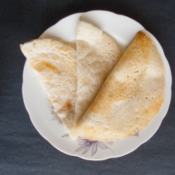 63: How to make Plain Dosa with Homemade Dosa Batter