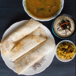 64: How to Make Simple Masala Dosa Recipe