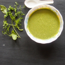 68: How to Make Coriander Mint Chutney Restaurant Style