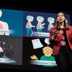 A new way to monitor vital signs (that can see through walls) | Dina Katabi