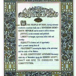 Preserving the constitution of India
