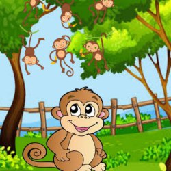 Swarg Ka Sukh   Hindi story for kids   Moral Story of a Monkey and her family   Educational Story