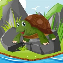 Sahas ka Parinam | Hindi story for kids | story of courage and Bravery | Story of two Tortoise🐢🐢