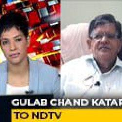 Rajasthan Crisis Due To Congress Infighting: BJP's Gulab Chand Kataria