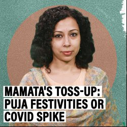 PoliTricks: Mamata's lose-lose in Bengal — allow Puja to avoid anti-Hindu tag by BJP but risk Covid surge