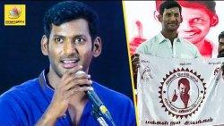 வருங்கால முதல்வரா ? போலீஸ்ல மாட்டி விட்டுறாங்தீங்க : Vishal about Madurai By-Election