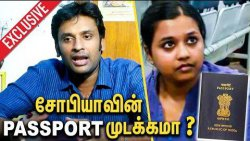 சோபியாவின் PASS PORT முடக்கமா ? BJP Vinoj Selvam Interview about Sophia | Tamilisai