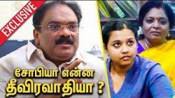 சோபியா என்ன தீவிரவாதியா ? : V. P. Kalairajan about Student Sophia | Interview