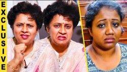 வாயில அசிங்கமா வருது : Lakshmy Ramakrishnan Angry Over Abirami | Interview